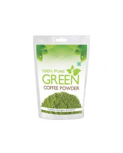 Health First Pure Organic Arabica Green Coffee Beans powder For Weight Management - 200Gm (200 grams)
