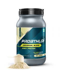Proathlix Universal Blend Whey Protein Powder, Vanilla Flavor | Low Carb Solution | 0.22 lbs/1 Kg