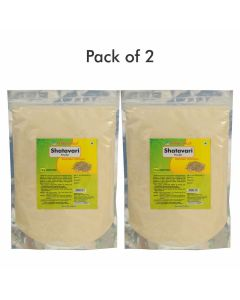 Shatavari Powder - 1 kg powder (Pack of 2)