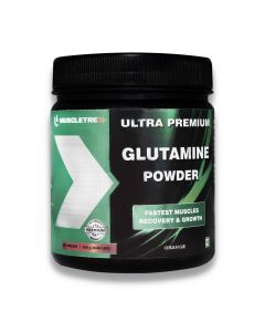 Muscletrex Glutamine Powder - 300gm (0.66 lbs)