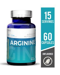 Advance Nutratech Arginine Aminos Supplement Unflavored 60 Capsules