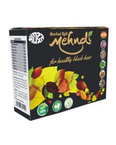 Meghdoot Ayurvedic Herbal Kali Mehandi 100 gm