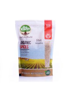Go Earth Organic Sesame Seeds 500gm
