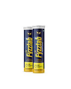 Fyzztab Electrolyte Recharge and Hydration Energy Drink – 40 Effervescent tablets (Lemon)