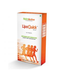 NutroActive Lipoquick Bullet Fat Burner (30 Tablets)