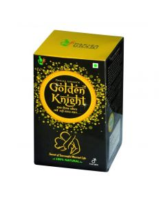 Pakiza Unani Golden Knight (250g) Restores Energy And Improves Vitality, Physical Strength And Stamina In Men