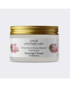 Sage Apothecary Multipurpose Massage Cream For Body Relaxation - 300 gm