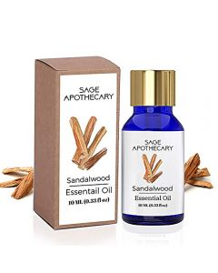 Sage Apothecary Sandalwood Essential Oil - 10ml