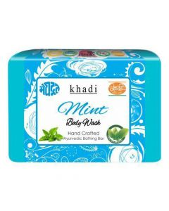 Khadi Meghdoot Ayurvedic Mint Body Wash 125 gm