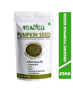 Madilu Organics Pumpkin Seeds - 250gm