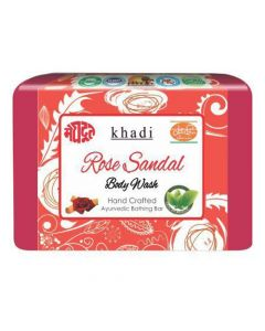 Khadi Meghdoot Ayurvedic Rose Sandal Body Wash 125 gm