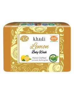 Khadi Meghdoot Ayurvedic Lemon Body Wash 125 gm