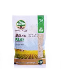 Go Earth Organic Urad Dal Dhuli 500gm