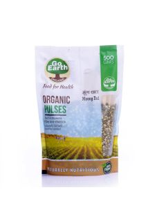 Go Earth Organic Moong Dal 500gm