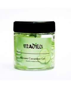 Madilu Organics Alovera Cucumber Gel (Sooths Irritated Skin) 100 gm