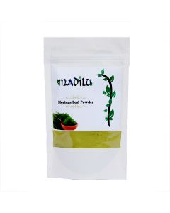Madilu Organics Moringa Leaf Powder - 100 gm