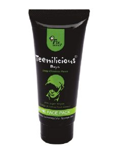 Teenilicious Anti Acne Pimple and Skin Tightening Oil Control Face Pack for Men's and Boys,150 ml