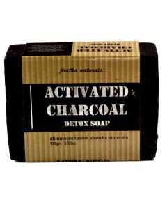 Pratha Naturals Activated Charcoal - Detox Soap 100 gm