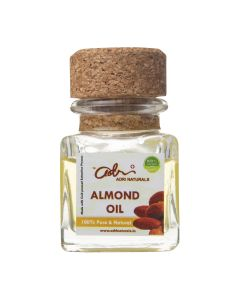Adri Naturals Almond Oil (Cold Pressed, 100% Pure & Preservative Free) - 30ml