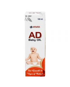 Afflatus AD Baby Oil 100 ml Bottle
