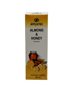 Afflatus Almond & Honey Body Lotion 200 ml Bottle