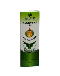 Afflatus Alovera Vit E Moisturiing Lotion 200 ml Bottle