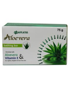 Afflatus Alovera With Natural Vit E Soap 75 gm Pack