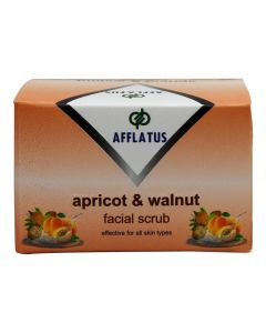 Afflatus Apricot & Walnut Scrub 100 gm Bottle