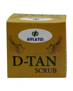 Afflatus D Tan Scrub 100 gm Bottle
