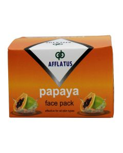 Afflatus Papaya Face Pack 100 gm Jar