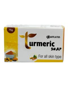 Afflatus Turmeric Soap 75 gm Pack