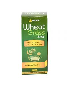 Afflatus Wheat Grass Juice 500 ml Bottle