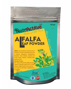 NutrActive Alfalfa Grass Powder - 100gm