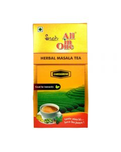 All in One Herbal Masala Tea Cardamom