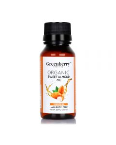 Greenberry Organics Organic Sweet Almond Oil 50ml