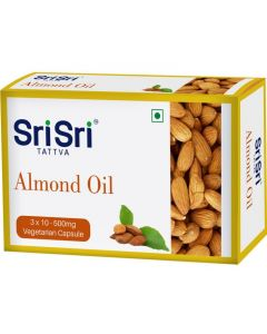 Sri Sri Tattva Almond Oil Veg Capsule - [3x10]
