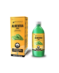 Dr. Vaidya's Aloevera Juice - Supports Skin , Digestion & Energy (1 LTR) - Vegetarian , Zero Added Sugar