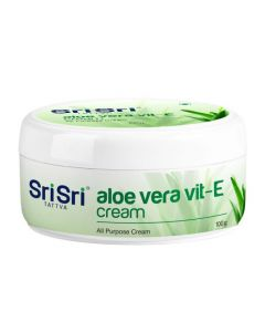 Sri Sri Tattva Aloe Vera Vit-E Cream - 100gm