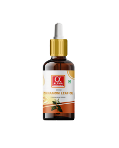 Alpha Essenticals Cinnamon Leaf Essential Oil [Cinnamomum verum], 15ml, 100% Pure Aroma, Therapeutic Grade