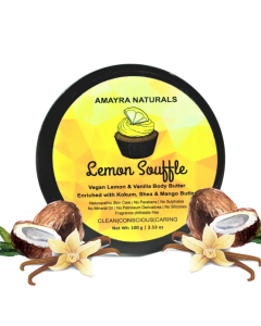 Amayra Naturals Body Butter (Lemon Vanilla) 100mg
