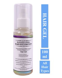 Rasalila India Harvest Aloe Vera & Water Chestnut Moisture Lock-in Hair Gel 100 ml Lavender-Rosemary