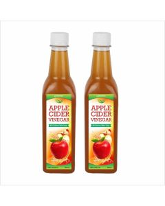 Biotrex Apple Cider Vinegar with mother - 500 ml,  Pack of 2