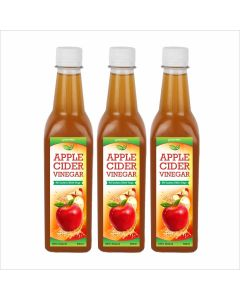 Biotrex Apple Cider Vinegar with mother- 500 ml  Pack of 3