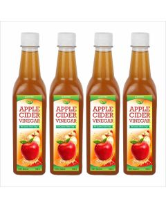 Biotrex Apple Cider Vinegar with mother- 500 ml  Pack of 4