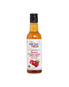 Brewed Natural Vinegar Apple With Mother - 370 ml