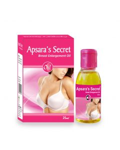 Apsara's Secret Breast Firming Oil 25ml X 3 Bottles