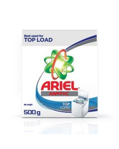 Ariel Matic Top Load Detergent Powder 500gm