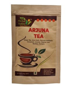 Indian Herbal Valley Arjuna 100 gms Herbal Green Tea for Healthy Heart Functioning