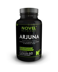 ARJUNA 500 MG CAPSULES- HEALTHY HEART SUPPORT