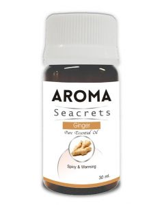 Aroma Seacrets Ginger Pure Essential Oil - 30ml